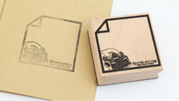 1 Piece Wooden Memo Stamp KINIYO Stationery