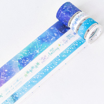 4 Rolls Elegant Washi Tape KINIYO Stationery