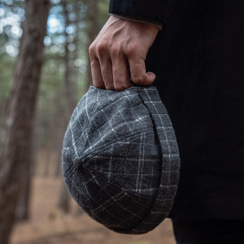 cptn originals, docker hat, miki hat, wool, checks