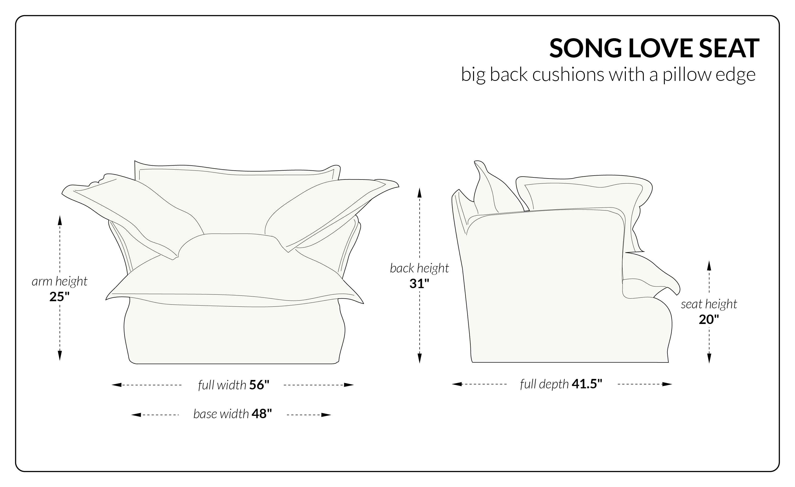 Song Loveseat big