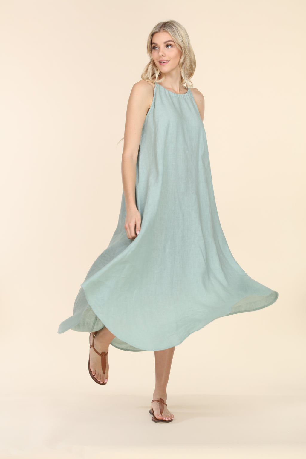 Linen Summer Dress - Tiffany