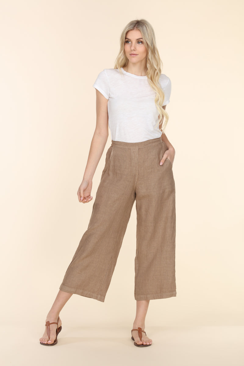 Pin Striped Linen Pants
