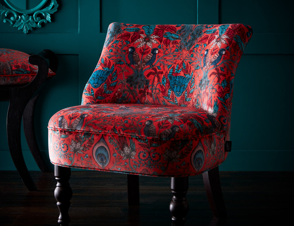 AMAZON LANGLEY VELVET CHAIR