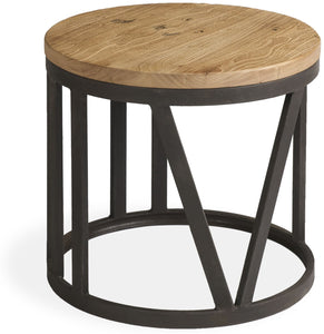 HEMMINGS SMALL ROUND COFFEE TABLE