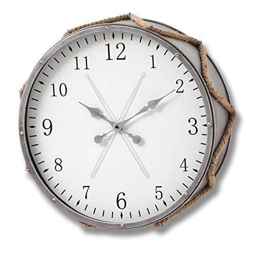 DRUM STYLE WALL CLOCK