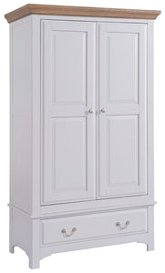STAMFORD PAINTED 2 DOOR 1 DRAWER WARDROBE