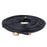 SSL Satellites Gold RF Fly Lead Coaxial Aerial Cable TV Male Extension Black & White ( 1M - 20M)