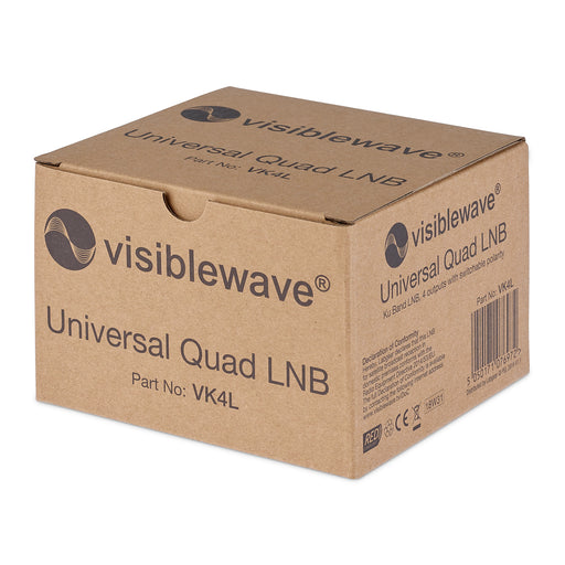 SSL Quad LNB Brand New In Box Latest Version For SKY + HD, Freesat Satellite