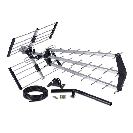 Loft & Outdoor Digital TV Aerial, SSL 4G Filtered 70 Element Aerial for Digital TV With Full Kit High Performance