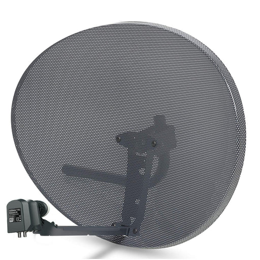 SSL Satellites Zone 2 Satellite Dish & Compatible SKY Q WIDEBAND LNB for Sky Q 1TB, Sky Q 2TB