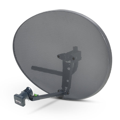 Satellites Zone 2 Satellite Dish & Twin LNB for Sky / FreeSat / Hotbird / Astra/ Polesat