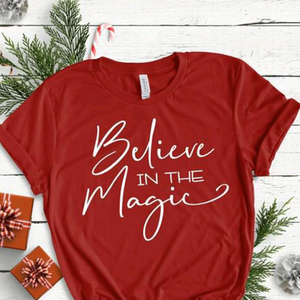 Believe in the Magic Short Sleeve Tee Shirt