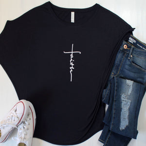 Classic Dolman Sleeve Faith Tee