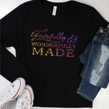 Fearfully & Wonderfully Made Holographic Tee
