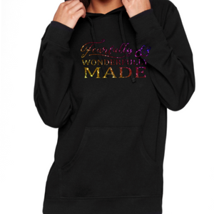 Fearfully & Wonderfully Made Holographic Hoodie