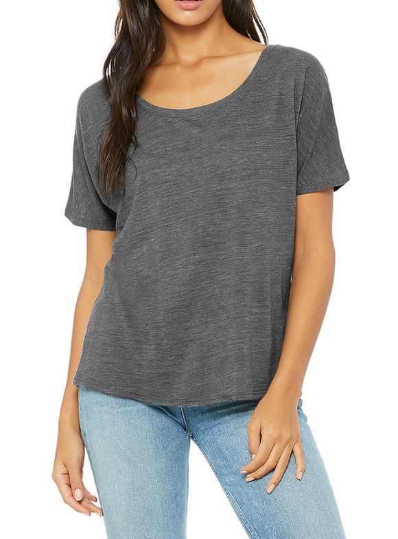 Gray Faith Tee