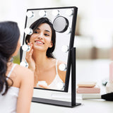 Vanity Mirror with Lights, Xpreen Hollywood Mirror with Lights - Vanity with Lighted Mirror, Light Up Mirror for Makeup, 3 Color Lighting Modes, Led Mirror Makeup with 12 Dimmable Bulbs