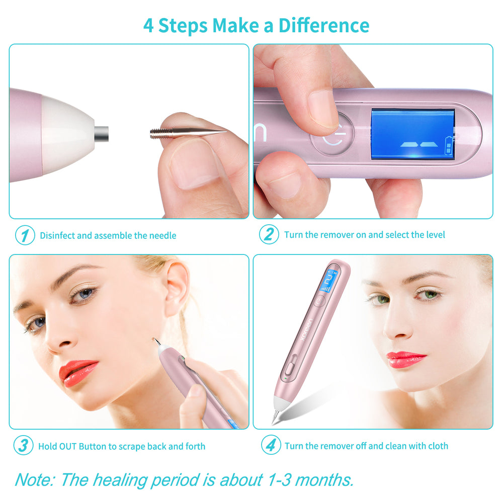 Xpreen Skin Tag Remover for Body and Face with LCD Screen