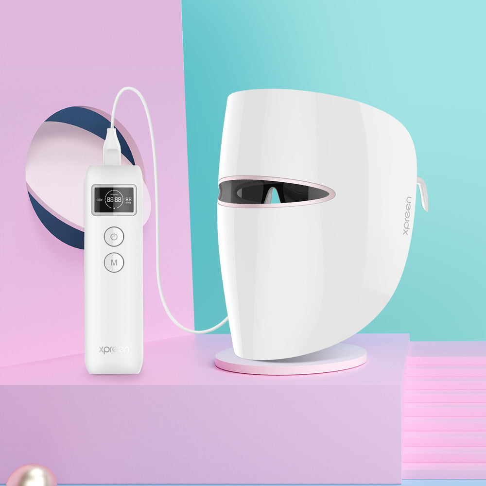 Xpreen Light Therapy Acne Treatment Face Mask