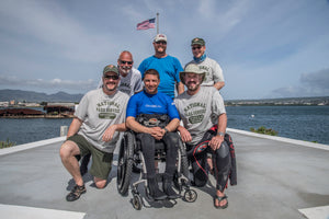Wounded Veterans Diving At Pearl Harbor National Memorial
