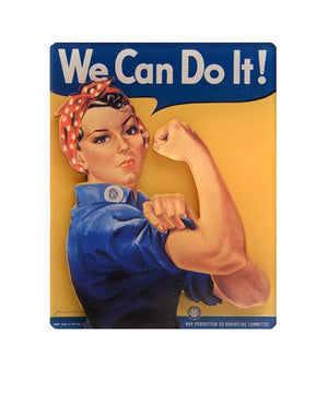 Rosie the Riveter 3D Magnet