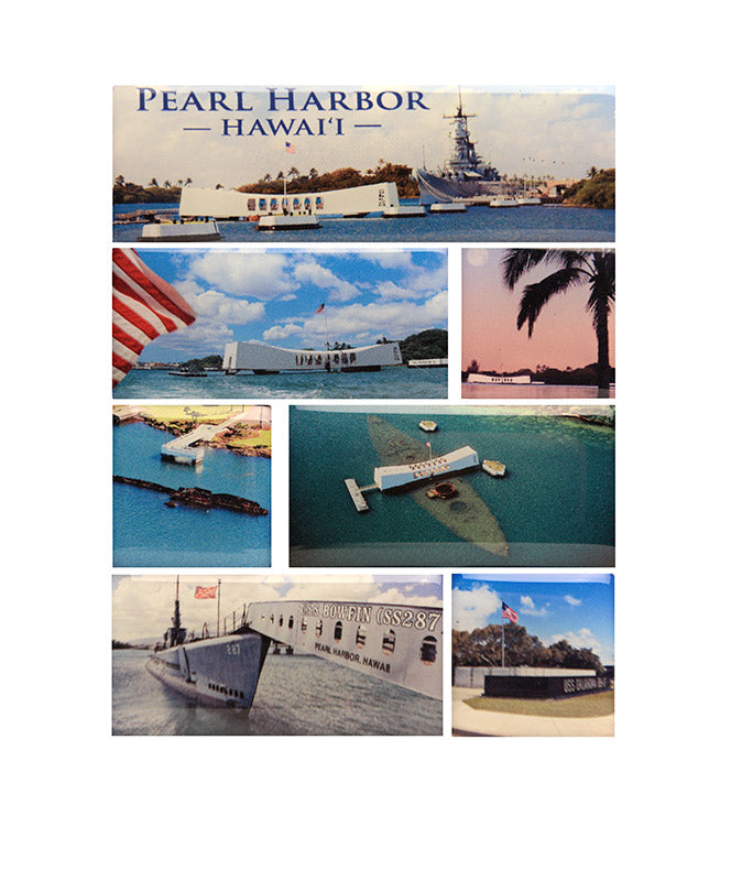 Pearl Harbor Magnet Set