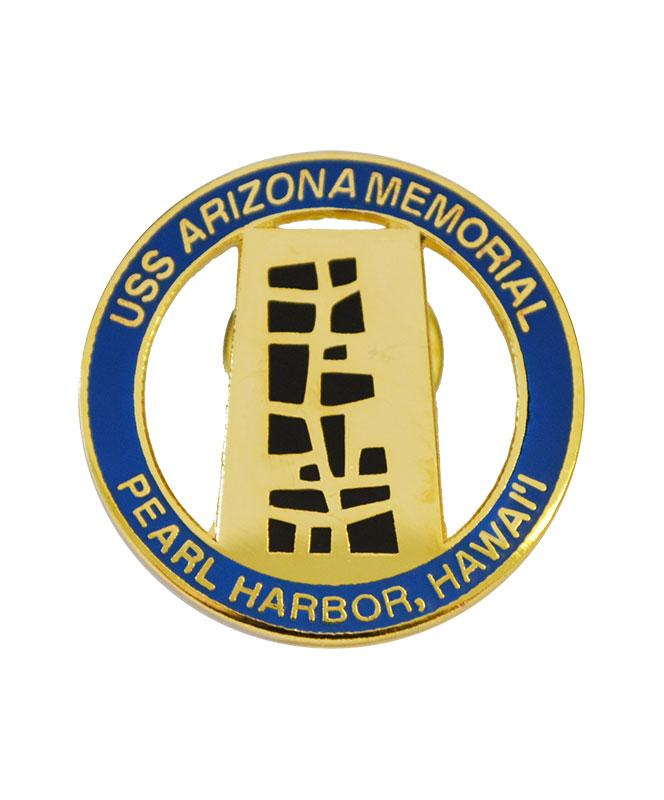 USS Arizona Memorial Tree of Life Pin