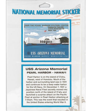 National Memorial Sticker