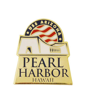 Pearl Harbor Hawaii Logo Pin