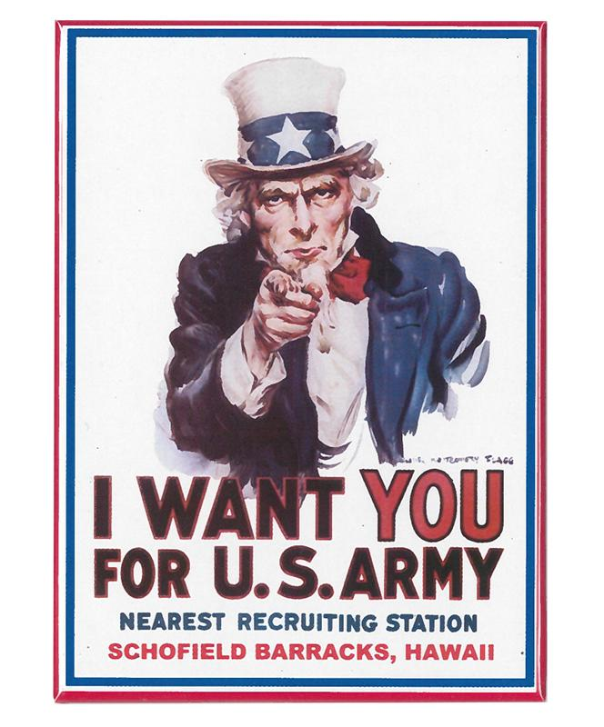 Magnet - Army Recruiting Poster