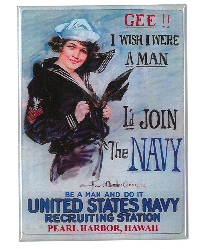 Magnet - Navy Recruiting Poster