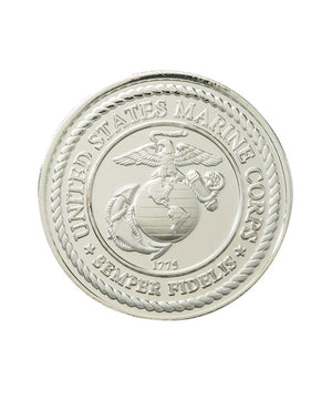 US Marine Corps Commemorative Coin Silver Clad