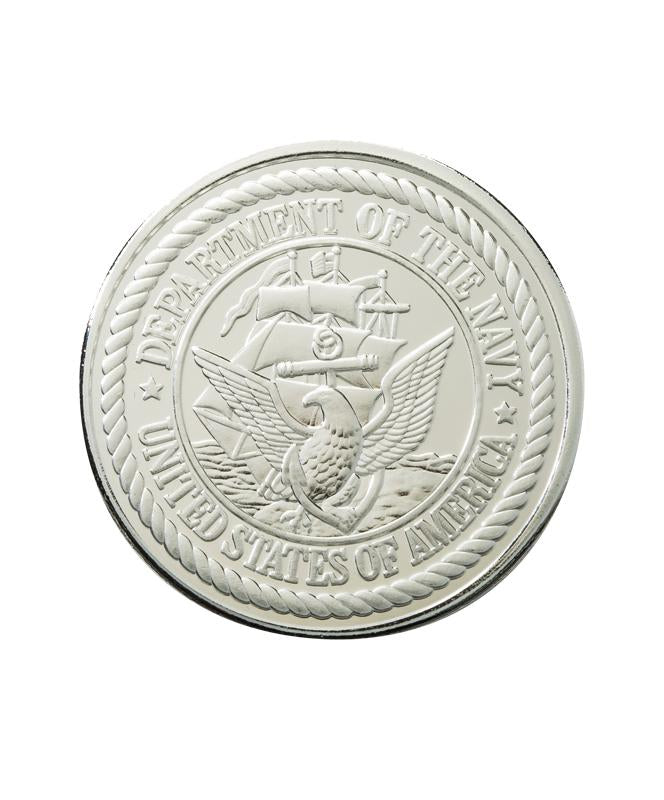 US Navy Commemorative Coin Silver Clad