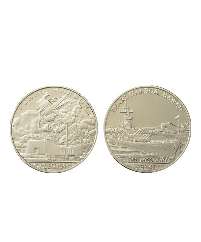 Commemorative Pearl Harbor Coin Set Proof Nickel