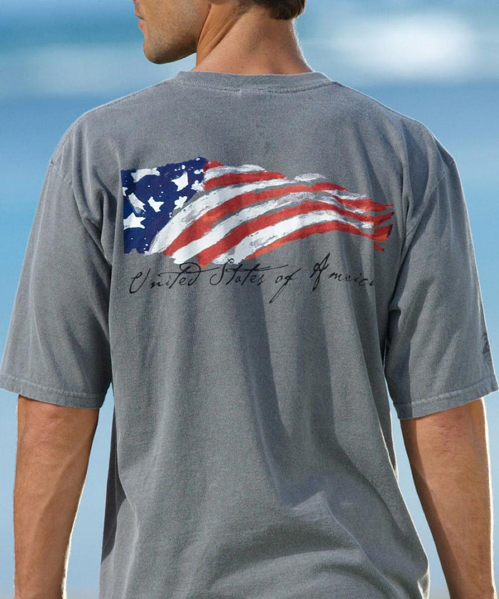 Crazy Shirts Winds of Freedom Flag Shirt