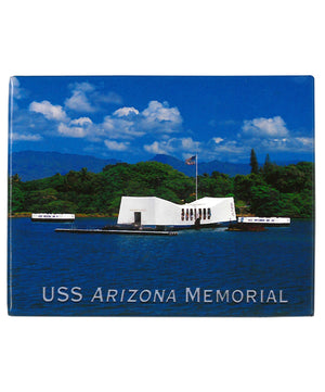 USS Arizona Memorial, Deep Blue Ocean - Magnet