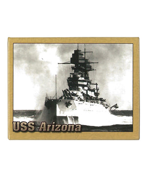 USS Arizona at Sea in 1932 - Magnet