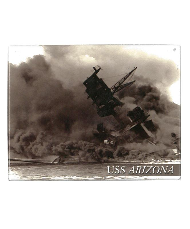 USS Arizona Dec. 7, 1941 - Magnet