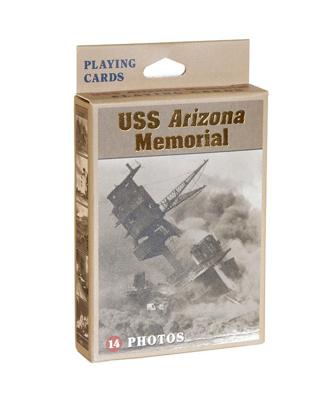 USS Arizona Archive Photo Playing Cards
