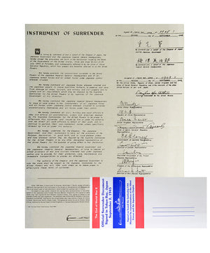 WWII Official Surrender Document