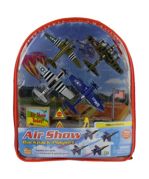 WWII Warbirds Air Show Backpack