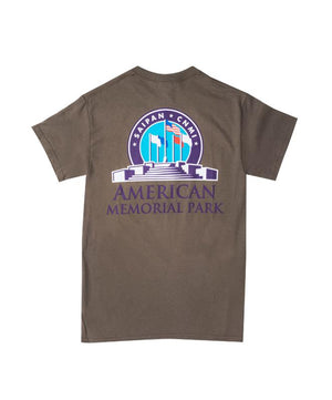 Men's American Memorial Park T-Shirt, Olive Green