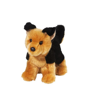 "10"" German Shepherd Dog Plush ""Rhea"""
