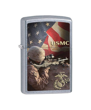 Genuine Zippo Lighter, United States Marine Corps