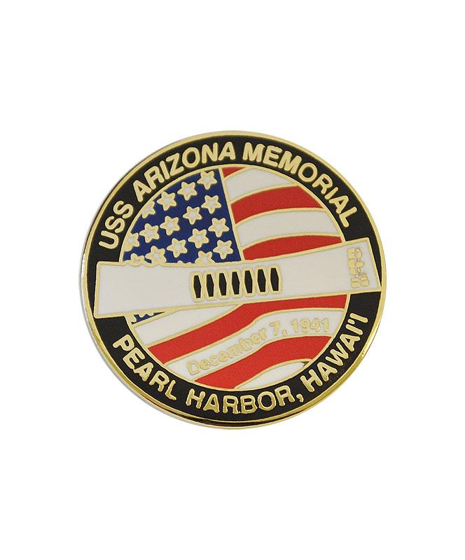 USS Arizona Memorial National Park Collectible Pin