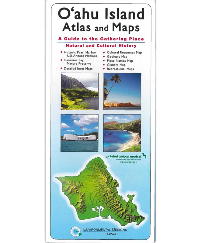 Oahu Island Atlas and Maps