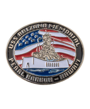 USS Arizona Memorial Lapel Pin