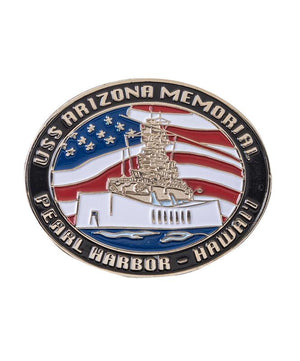 Pearl Harbor Collectible Oval Magnet