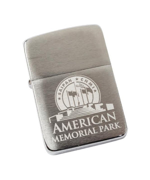 Genuine Zippo Lighter - American Memorial Park