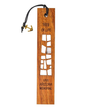 Tree of Life, Arizona Memorial Koa Bookmark